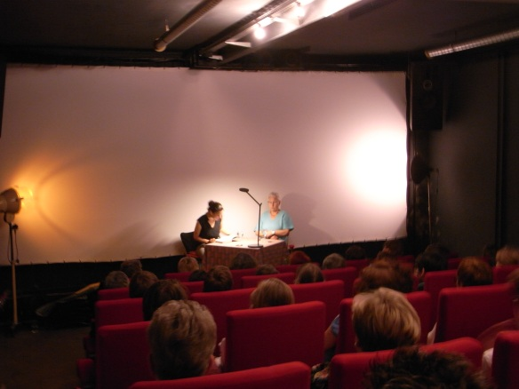 Lesung in Basel: Autorin Corinne Rufli im Gespräch mit Irène Schweizer