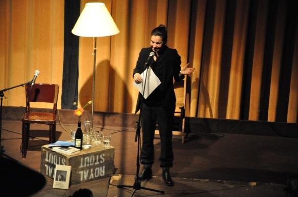 """""""Wein, Weib und Vibes"""" mit Corinne Rufli im Royal in Baden am 16.1.2016"""
